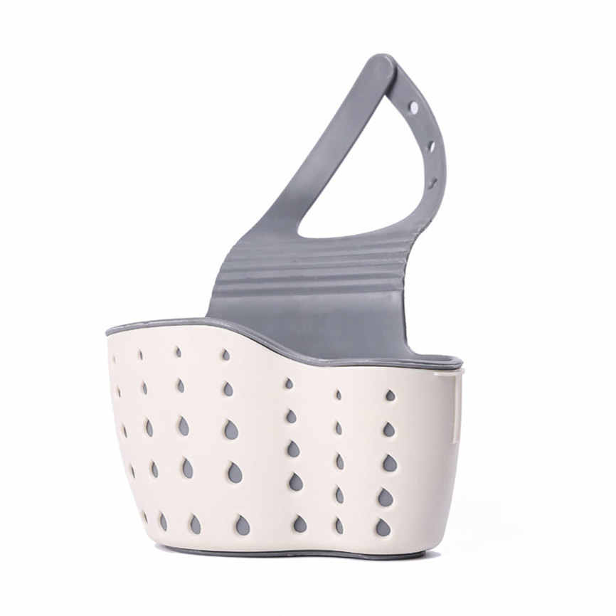 Mensola lavandino Sapone Spugna Rack di Scarico del Bagno Titolare Contenitori e complementi per Cucina ventosa Da Cucina Organizzatore Lavello Da cucina accessori Da cucina No HN28