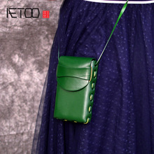 AETOO Brand Small Shoulder Bags For Women 2019 Messenger Bags Ladies Leather Handbag Purse cell phone bag Female Crossbody bag цена в Москве и Питере