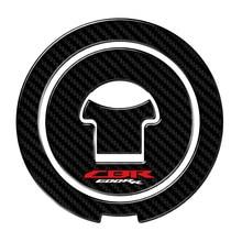 Naklejki cbr 600 rr 3D Carbon-look naklejki motocyklowe korek zbiornika paliwa paliwa Protector naklejki Case dla Honda CBR600RR CBR 600RR 2003-2016