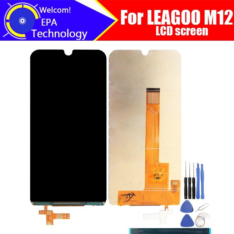 5.7 Inch LEAGOO M12 LCD Screen Digitizer Assembly 100% Original New LCD Digitizer For LEAGOO M12.