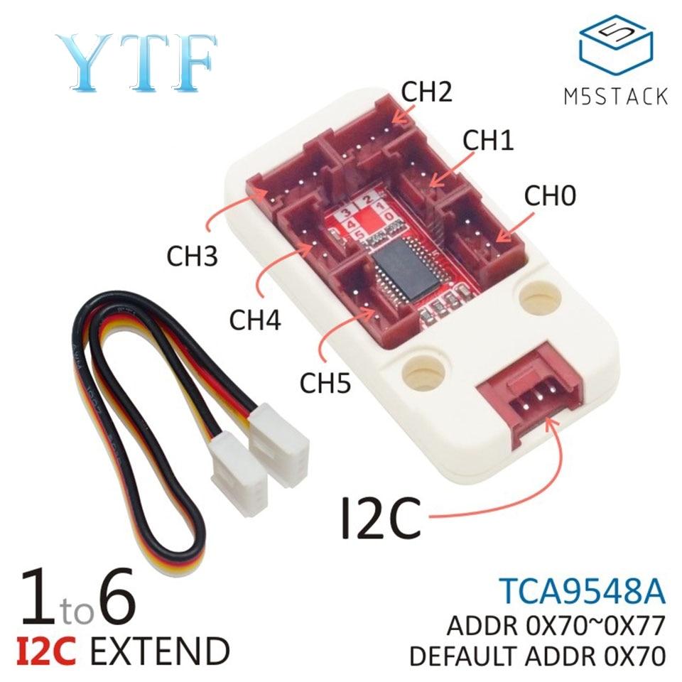 M5Stack PaHUB I2C HUB 1 6 Mini-series Expansion Modules TCA9548A