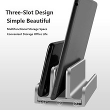 Für Xiaomi Samsung iPad Pro 11 12,9 Mini iPhone 8 Macbook Air Pro Laptop Vertikale Tablet Ständer Telefon Unterstützung Tablet halter Dock