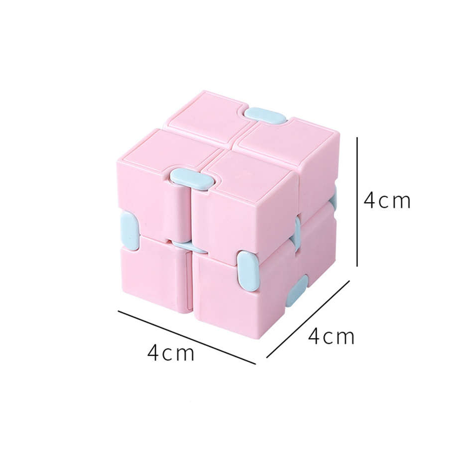 Fidget Toys Infinity Magic Cube Puzzle Relieve Stress Flip Cubic Children Adult Decompression Toy Game Four Corner Maze Toy Gift img4
