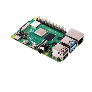 Image 2 - Последняя модель Raspberry Pi 4 Model B с 2 Гб ОЗУ BCM2711, четырёхъядерный телефон версии v8, 1,5 ГГц, поддержка 2,4/5,0 ГГц