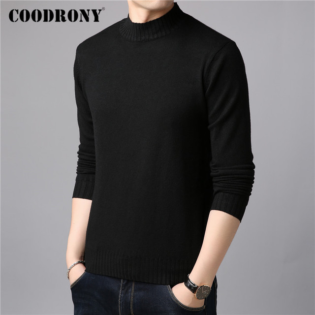 Brand Sweater Casual Winter Thick Warm Sweaters Soft Knitwear 1