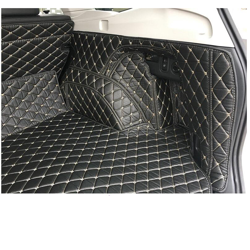 lsrtw2017 fiber leather car trunk mat for for subaru forester 2013 2014 2015 2016 2017 2018 2019 2020 in Interior Mouldings from Automobiles Motorcycles