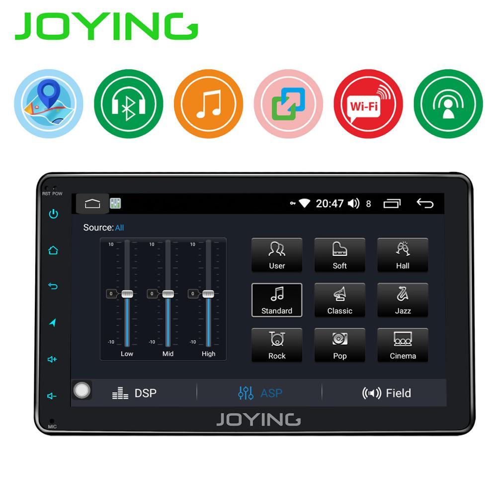JOYING Auto Porduct 8'' Android Auto Radio stereo Einzigen 1 din Kopf Einheit Multimedia KEINE DVD-Player DVR Kassette Band recorder TPMS