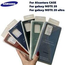 Оригинал, Samsung Galaxy NOTE 20/NOTE 20 Ультра/NOTE 20 Ультра 5G для Alcantara Чехол кожаный роскошный Премиум чехол анти-осенний чехол