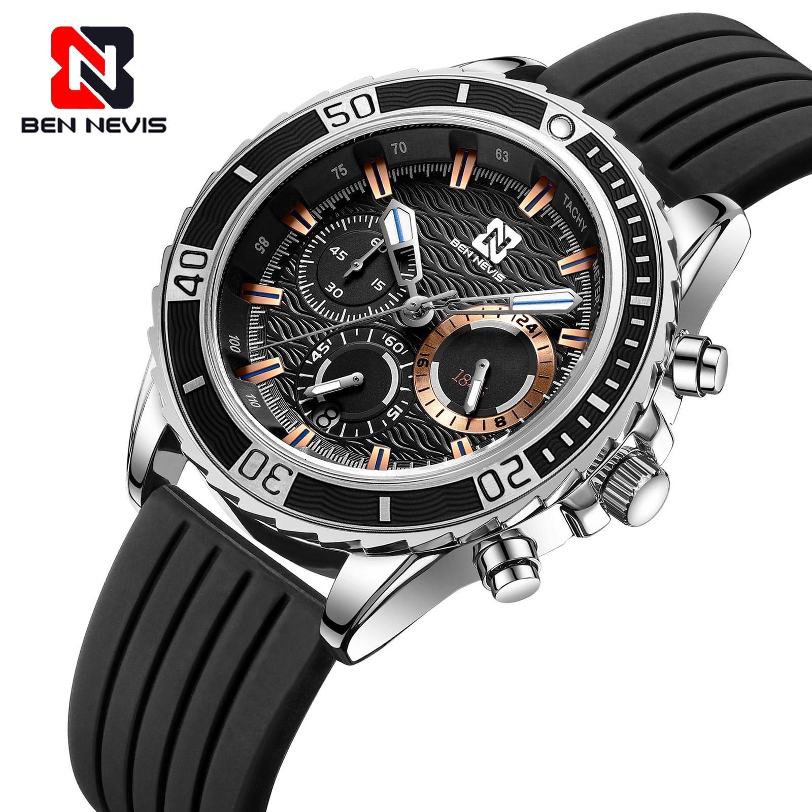 Ben Nevis Fashion Sport Business Quartz Watch For Men luxury Wristwatch Military Watch Male Waterproof Clock Innrech Market.com