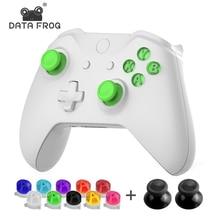 Yedek düğmeler ABXY kiti için Microsoft Xbox One/ince yedek parça düğmesi Xbox One Elite kablosuz denetleyici aksesuarları