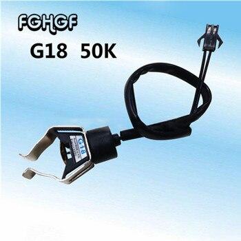 1pcs Wall-mounted Tube Clamp Type NTC Temperature Sensor G18 Tube Temperature Sensor Head 1