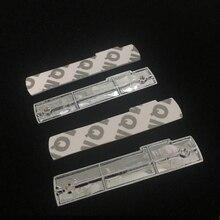 цена на 4pcs 3D Metal Sticker Side Rear Fender Sticker For Audi Sline A3 A4 A5 A6 C6 A1 A7 A8 TT Q3 Q5 Q7 S Line Emblem Car Styling