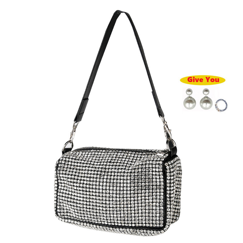 Woman Bag 2019 Diamonds Evening Clutch Bags High Quality PU Crossbody Fashion Mini Shoulder Bag Ladies Purses And Handbags New