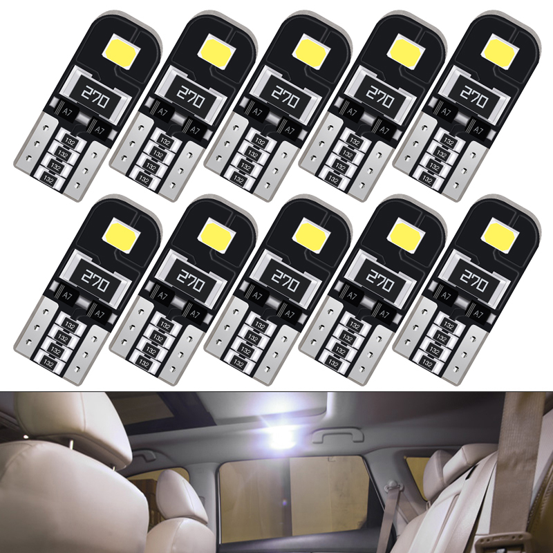 10x T10 W5W LED Lamp Auto Car Interior Light for <font><b>Lexus</b></font> is250 nx rx330 ct200h gx470 <font><b>rx300</b></font> rx350 gs300 is300h is 350 is200 rx 330 image