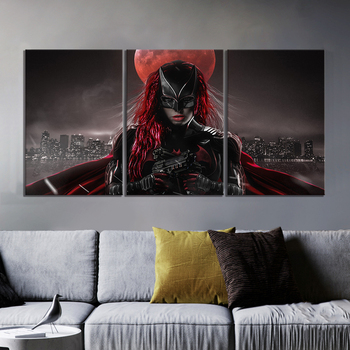 Batwoman Superhero Movie Posters Canvas Wall Art Paintings For Living Room Wall Decor Grgfetrt4545