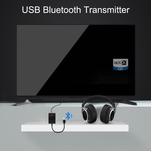 Image 2 - Mini Wireless Bluetooth Stereo Audio Transmitter Music Adapter Optical SPDIF Toslink RCA 3.5mm Aux for TV PC PS4 XBOX