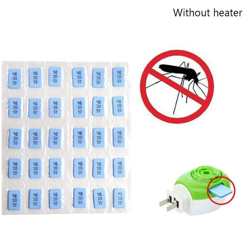 30pcs Mosquito Repellent Tablets For Home Baby Safe Tasteless Electric Pest Coil Household Powerful Anti Insect Killer Repellent