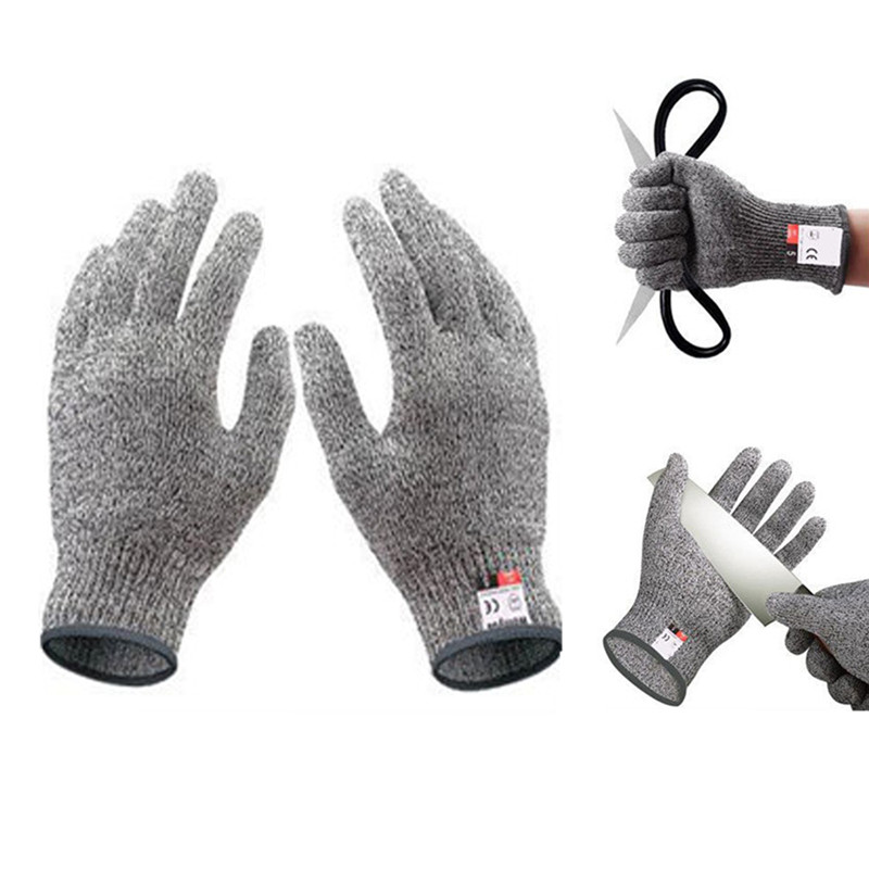 Work Gloves Cut Resistant Protective Gloves Durable Cut Proof Safety Gloves For Garden Kitchen Hunting Butcher Building