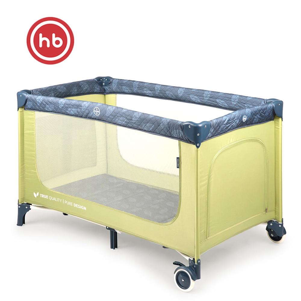 Baby Playpens Happy Baby Martin Playpen Manege CRIB For Children For Babies Fencing GRASS Metal Green