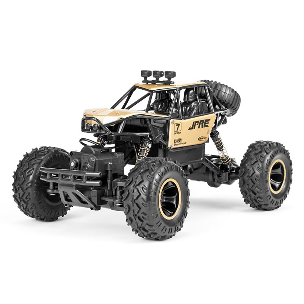 1:16 4CH Remote Control Car Four-wheel Drive High-speed Off-road Toys Machines Kids Adults Boys Gift Rock Crawler RC Vehicle Toy image