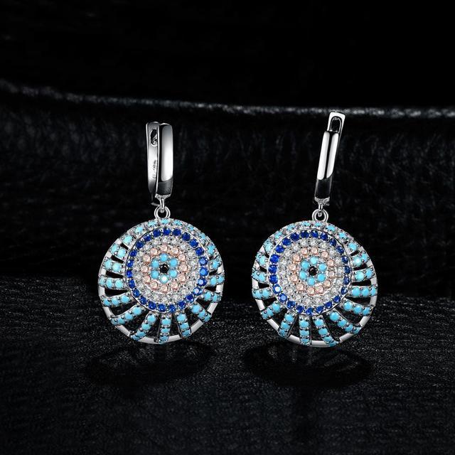Boho Turquoise Drop Earrings
