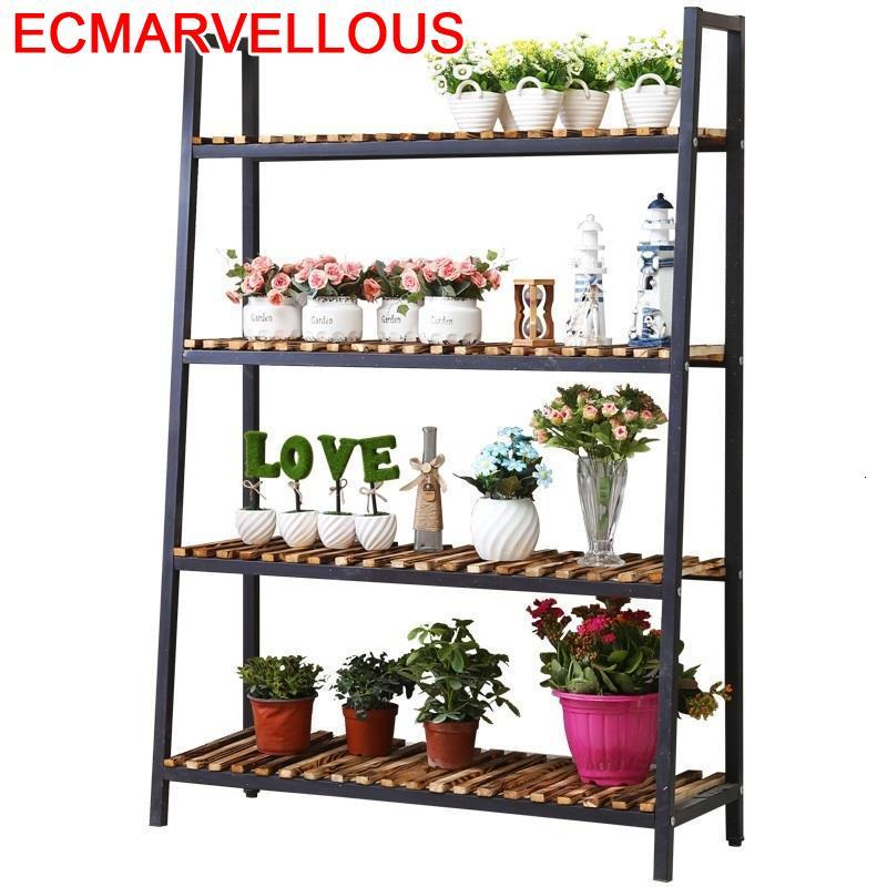 Para Plantas Stojaki Plantenrekken For Saksi Standi Indoor Pot Stojak Na Kwiaty Dekoration Outdoor Flower Shelf Plant Stand