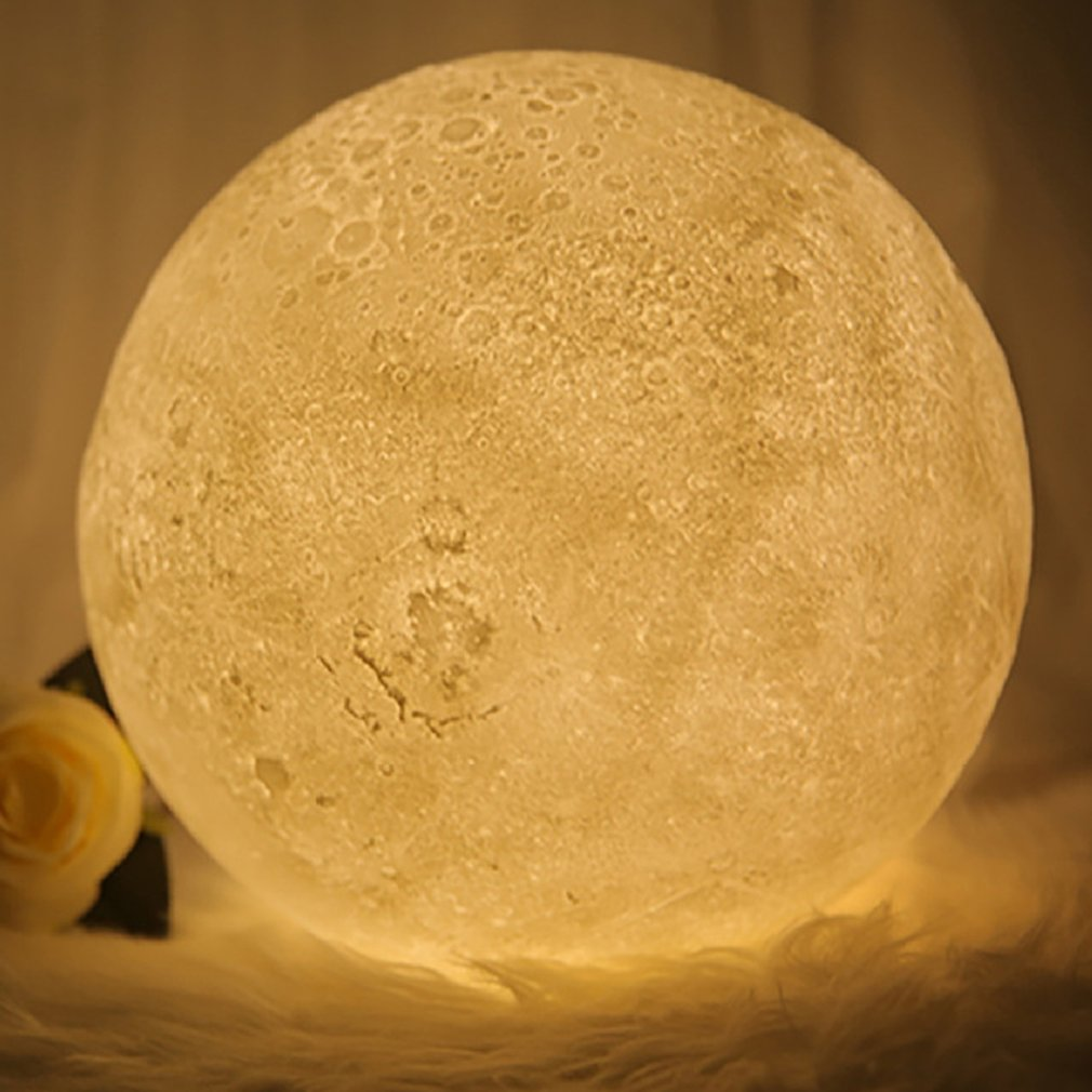 2 Color Light Creative Moonlight 15 Cm