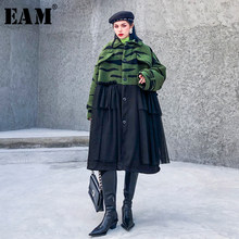 [EAM] Loose Fit Leopard Print Split Big Size Thick Woolen Coat Parkas New Long Sleeve Women Fashion Autumn Winter 2019 19A-a398(China)