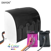 DMYON Compatible CISS 129XL 135XL Compatible for Hp Deskjet 6943 6983 5943 D4163 PS 8053 2573 D5063 100 6313 6213 H470 C4183