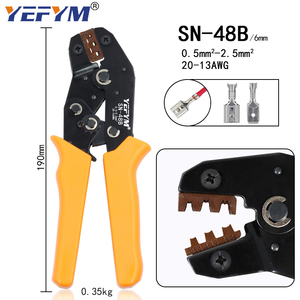 Image 3 - Kit crimping tools SN 48B pliers jaw kit stripping wire cutters pliers for plug/tube/insulation terminals calmp tools