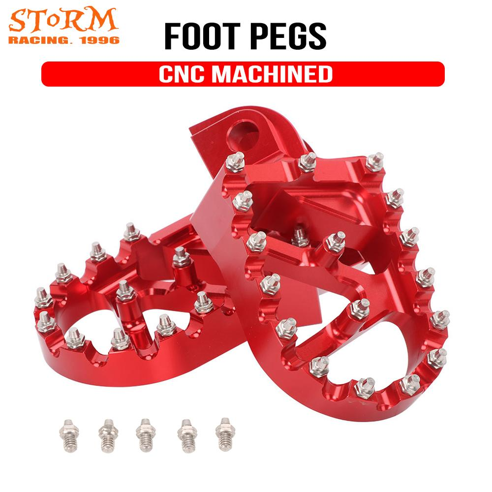 CNC Foot Pegs FootRest Footpegs Ress Pedals 2T 4T For <font><b>Beta</b></font> 200RR <font><b>300RR</b></font> 350RR 390RR 400RR 430RR 450RR 480RR 498RR 520RR 2010-2018 image