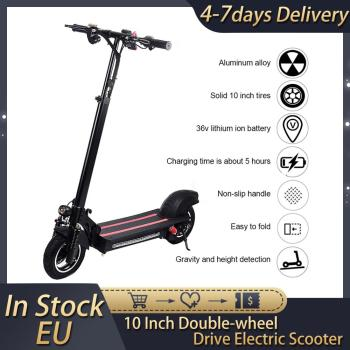 10 Inch Double-wheel Drive Household Electric Scooter 48V 22Ah 1200W Brushless Motor High Quality 35-50KM Battery Unisex Adult