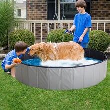Foldable Pet Swimming Pool PVC Dog Cat Children Bath Bed Wash Pond Large Small Dog Swim Bathtub Summer Pool Dropshipping