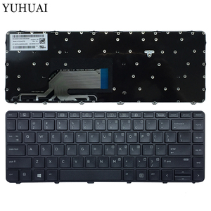 Nowa klawiatura laptopa US dla HP Probook 430 G3 430 G4 440 G3 440 G4 445 G3 640 G2 645 G2 w języku angielskim czarna klawiatura z ramą