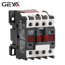GEYA CJX2-1210 Din Rail Telemecanique AC Contactors 220V Magnetic Contactor 380V LC1D12A Types of