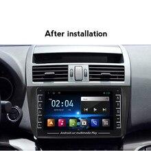 1280X720 sistema Android navegación GPS para MAZDA 6 2008, 2009, 2010, 2011, 2012 coche Multimedia Radio reproductor de vídeo apoyo DVR ADAS