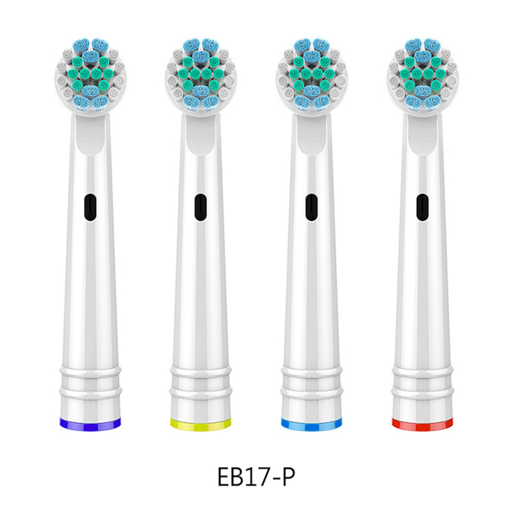 4pcs Toothbrush Brush Heads For Oral B D25, D18, D12, D8, D4X, D4, D17, D4510, D12013, D12013W, D12523, D8011, D9525, D9511