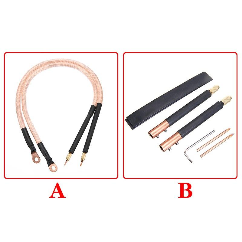 New DIY Spot Welding Machine Welding Handheld Spot Welding Pen Hole Terminal Connector Welder Parts A/B For Choosing