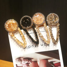 New Fashion Crystal Rhinestone Hairpin Women Girls Hair Clips Pins Barrette Accessories Ornaments Hairclip Hairgrip Headdress