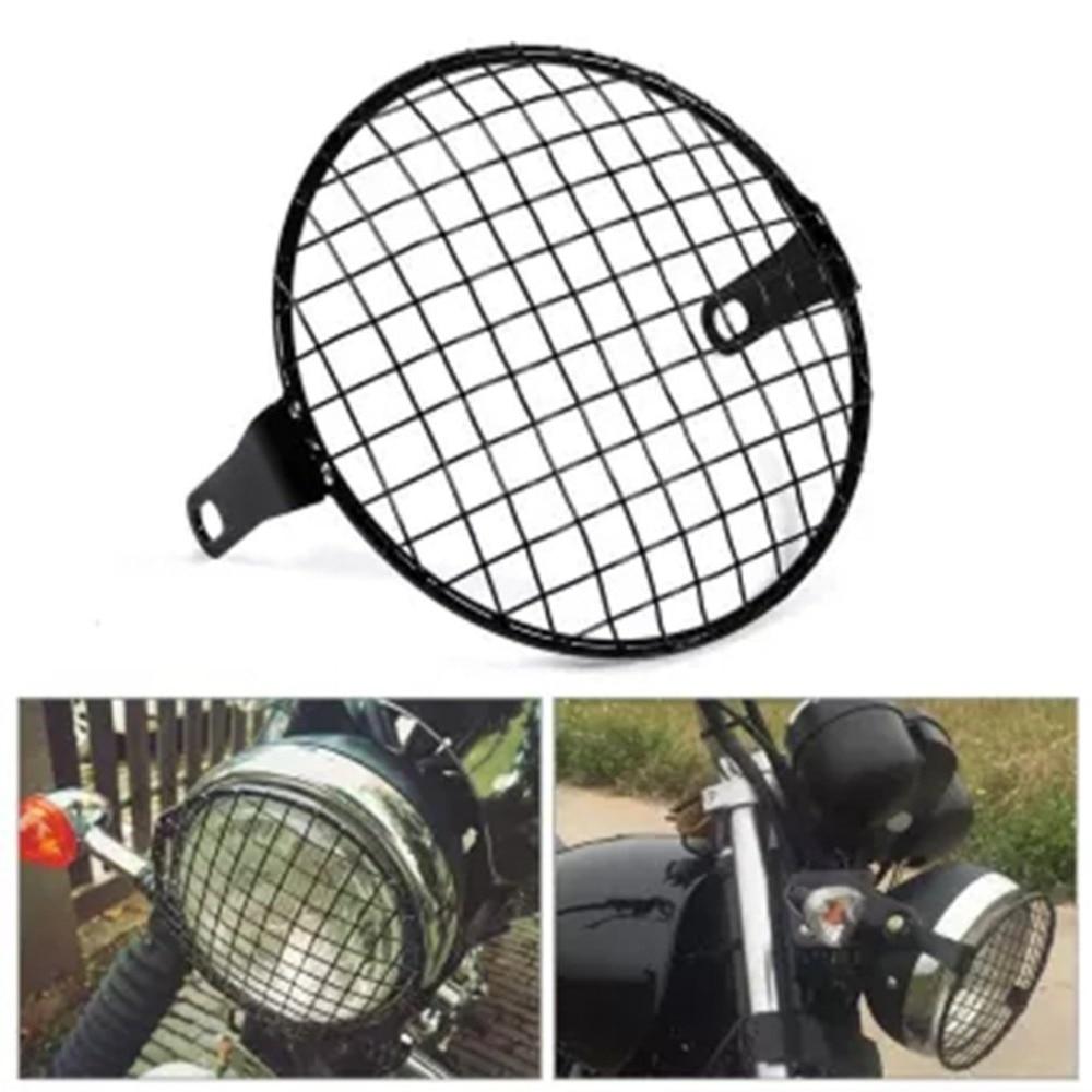 1 Pair Motorcycle Headlight LED Light Spotlight Lamp Universal