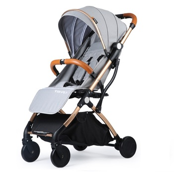 Europe Hot Sale Lightweight Baby Stroller Foldale Baby Carriage Can Sitting And Lying Portable Travel Pram Toddler Pushchair twins baby stroller sitting and lying portable baby carriage folding second child artifact double seat twin stroller for newborn