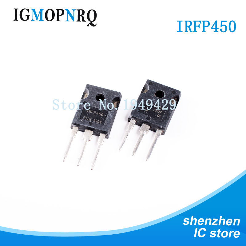 Free Shipping 10pcs/lot IRFP450 TO-247 Package 14A 500V N-Channel New Original