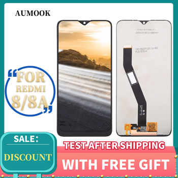 Tested Lcd Display For Xiaomi Redmi 8A LCD DisplaTouch Screen 6.22 inch Digitizer Assembly +Frame For xiaomi Redmi 8 LCD Screen недорого