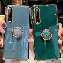 SoCouple caso para Samsung A7 A8 A70 50 51 71 31 41 S21 Plus Nota 20 ultra S20 FE m11 m51 A42 20s anillo de soporte para teléfono Grip Case