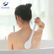 Narwaldate по уходу за кожей для ванной щетка с длинной ручкой