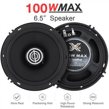 2pcs-6-5-inch-100w-12v-car-coaxial-speaker-high-mid-bass-ultra-thin-modified-speaker-non-destructive-installation