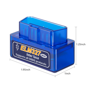Image 3 - Mini ELM327 V2.1 OBD2 OBDII Bluetooth Interface Car Auto Diagnostic Interface Scanner Diagnostic Tool Code Reader Scan Tool
