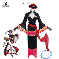 ROLECOS Game Fate Shuten douji Cosplay Costume Women Cheongsam Zombie Halloween Costume FGO Fate Grand Order Sexy Dress Hat