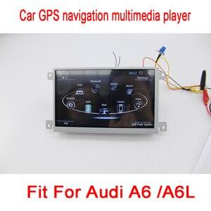 Image 4 - مشغل وسائط للسيارة أودي A6 A6L 2005 ~ 2011 يعمل بنظام أندرويد راديو تلقائي استريو ونظام تحديد المواقع والملاحة والوسائط المتعددة