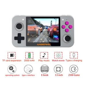 Image 3 - Newest RG 350 retro handheld Video game console portatil mini game console retro 64bit opendingux 3.5inch IPS screen 2500+ games